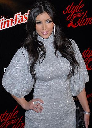 TV Personality Kim Kardashian at the Style You...