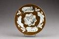Kinesisk porslins tallrik från 1735-1795 - Hallwylska museet - 95830.tif