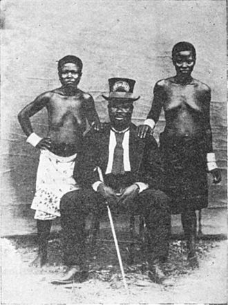 Ndumbe Lobe Bell - King Bell in 1881