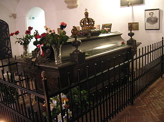St. Michael's Church, Munich - King Ludwig II Crypt.