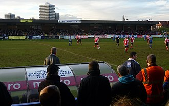 Kingsmeadow - Kingsmeadow in 2011