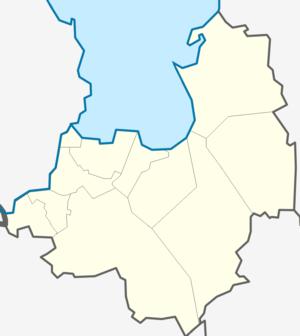 Кировский муниципальный район на карте