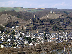 Kobern-Gondorf - Kobern with Lower and Upper castles