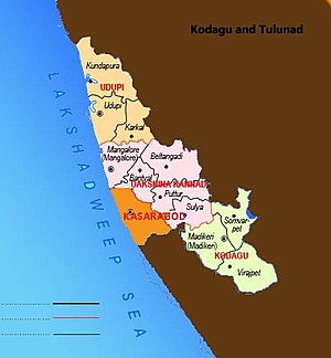 Proposed states and territories of India - Proposed union territory of Kodava and Tuluva Naad