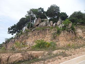 Colluvium - Image: Koh Tao Island, Land erosion