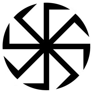 Polish tribes - The słoneczko (lit. little sun) or, as it is known in Russia, the kolovrat (коловрат) is a symbol used by many Slavic neo-pagans to represent the Sun, allegedly of ancient origin.