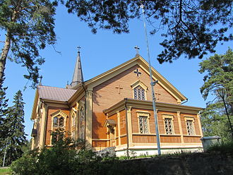 Juutila Foundry - Kontiolahti Church in North Karelia
