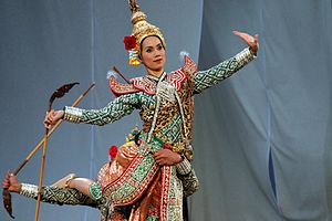 Dance in Thailand - Thai dancers