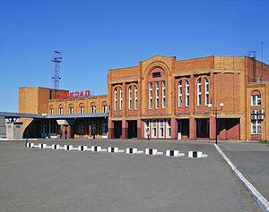 Kotelnich - Image: Kotelnich. Near Railroad Station
