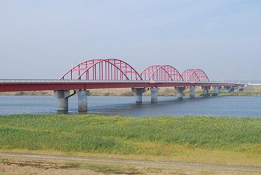 Kozaki-bridge,Kozaki-town,Chiba-pref.,Japan