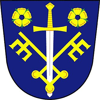 Kozlov (Jihlava District) - Image: Kozlov znak