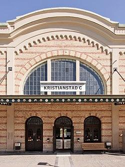 Et kig ind mod stationen