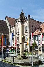 Kronach - Melchior-Otto-Platz - Ehrensäule