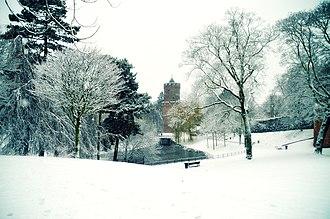 Kronenburgerpark - Image: Kronenburger park Nijmegen