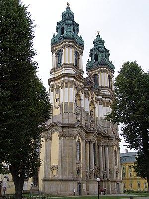 Krzeszów Abbey - Basilica