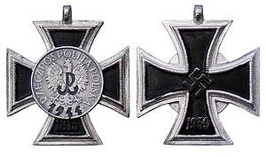 Cross of the Warsaw Uprising - Image: Krzyż Powstania Warszawskiego