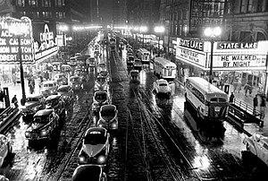 Stanley Kubrick - Photo of Chicago taken by Kubrick for Look magazine, 1949