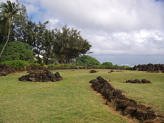 Kukui Heiau United States historic place