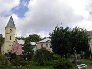 Lázně Kynžvart Town in Karlovy Vary, Czech Republic