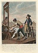 L'execution de Maximilien de Robespierre a la guillotine.jpg