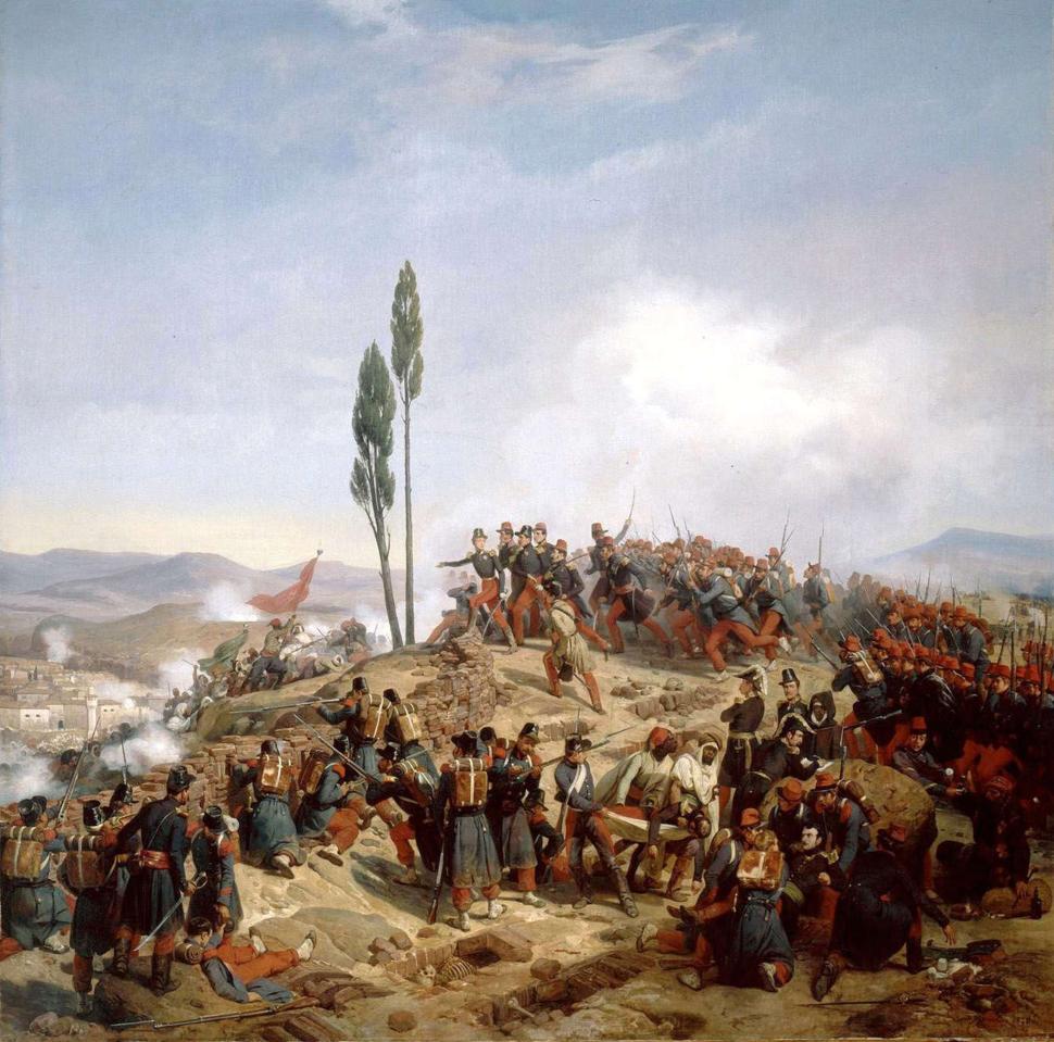 L'ennemi repoussé des hauteurs de Coudiat-Ati