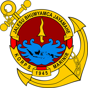 Indonesian Marine Corps - Indonesian Marine Corps Coat of Arms