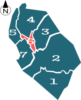 Districts of La Paz