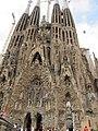 La Sagrada Família, Barcelona - panoramio (2).jpg