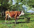La vache à l'abreuvoir Julien Dupré.jpg