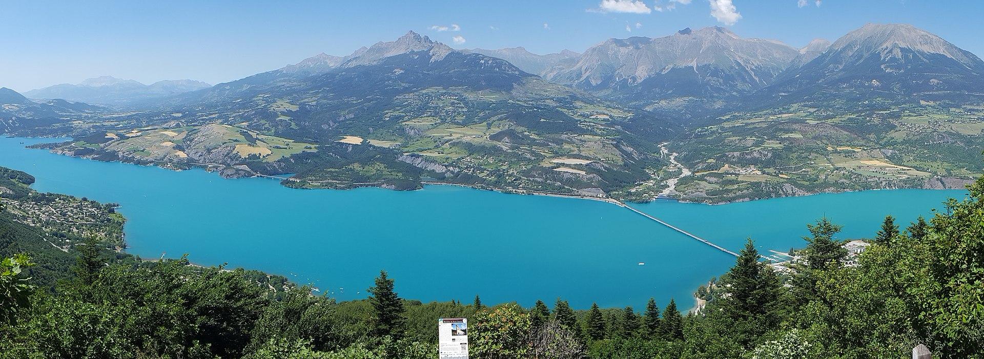 Альпийский чудо-городок Бриансон (Briançon). Ч. 2. Легкая поездка на шикарное озеро Сер-Понсон