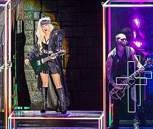"Electric Chapel - Gaga performing ""Electric Chapel"" on her Born This Way Ball tour in Manchester, September 2012"