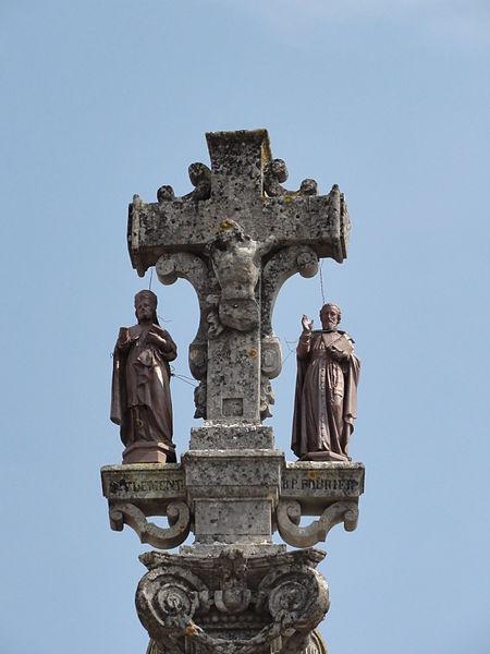 Lagney (Meurthe-et-M.) croix sculpté, recto