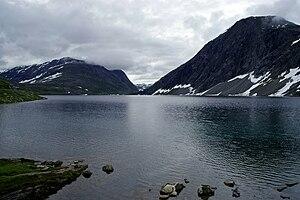 Lakes in Norway - Djupvatnet in Stranda, Møre og Romsdal