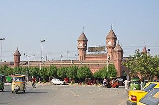 Lahore Junction railway station Railway station in Pakistan