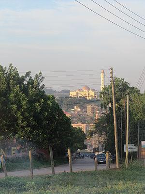Kampala Hill - Image: Laika ac Gaddafi National Mosque, Kampala (6693329399)