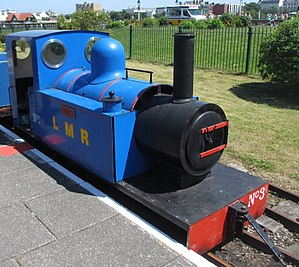 "Lakeside Miniature Railway - Lakeside Miniature Railway, Southport, England. Locomotive ""Jenny"""