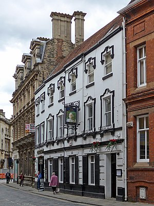 The George Hotel in the city centre Land of Green Ginger, Hull (28353271630).jpg