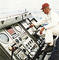 Landing signal officer on USS Kearsarge (CVS-33) in 1966.jpg
