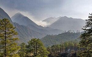 Geography of Arunachal Pradesh - Landscape of Anjaw