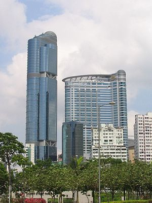 Langham Place (Hong Kong) - The office and hotel, Langham Place, Hong Kong