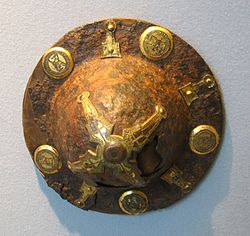 Langobard Shield Boss 7th Century