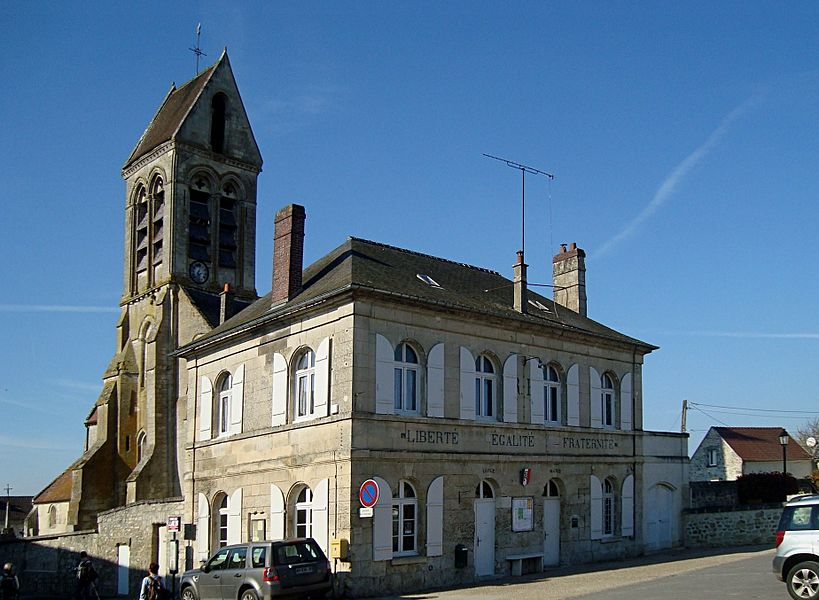 Mairie de Largny-sur-Automne, Aisne, France