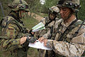 Latvian and Lithuanian soldiers confirm their respective positions during the field training portion of exercise Saber Strike 2013 in Adai, Latvia, June 10, 2013 130610-O-ZZ999-001.jpg
