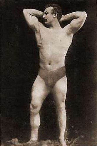 Weightlifting at the 1896 Summer Olympics – Men's two hand lift - Image: Launceston Elliot