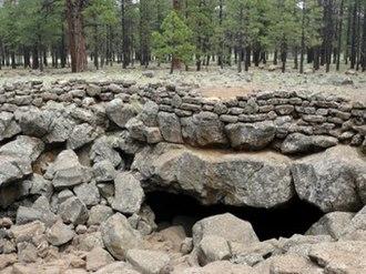 Lava River Cave (Arizona) - Entrance to Lava River Cave