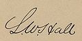 Lawrence W. Hall signature 35th Congress 1859.jpg