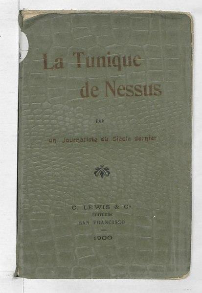 File:Le Nismois, La Tunique de Nessus, 1900.djvu
