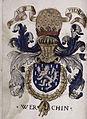 Le Triumphe d'Anvers (1555) - Armes de Pierre de Werchin.jpg
