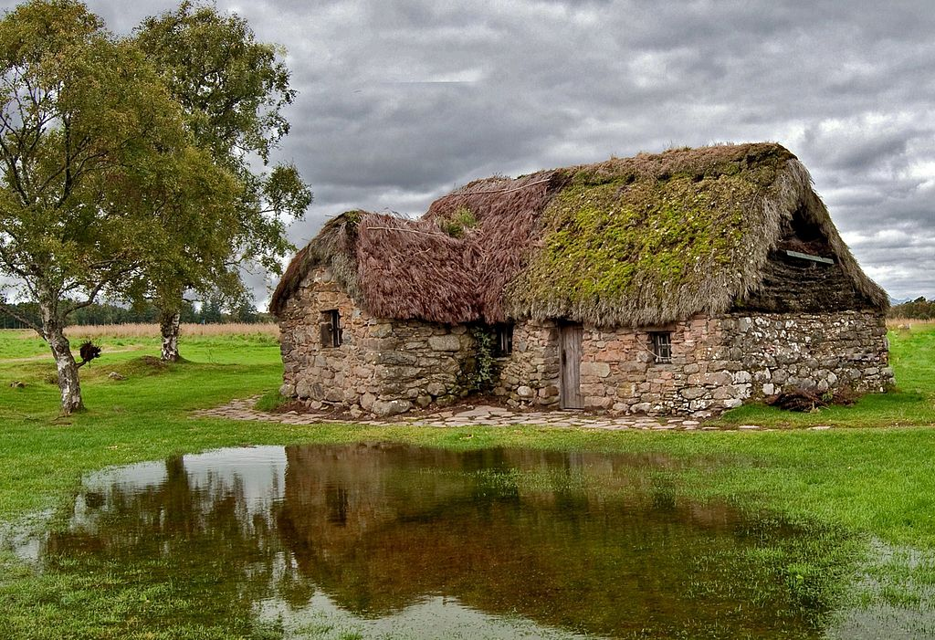 File Leanach Cottage Culloden Moor Jpg Wikimedia Commons