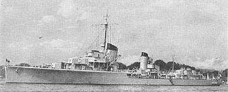 German destroyer Z1 Leberecht Maass - Image: Leberecht Maass 1